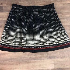Size 4 vintage TAIL tennis skirt patriotic